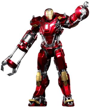アイアンマンのアーマースーツ「マーク35」の画像