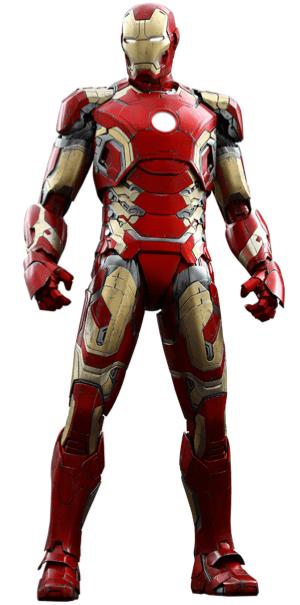 アイアンマンのアーマースーツ「マーク43」の画像