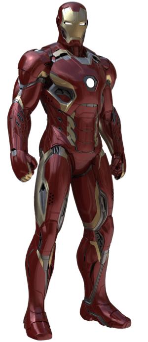 アイアンマンのアーマースーツ「マーク45」の画像