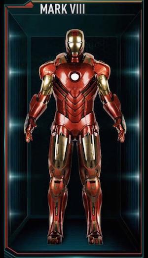アイアンマンのアーマースーツ「マーク8」の画像