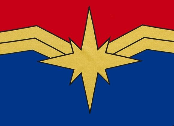 キャプテン・マーベルのロゴ