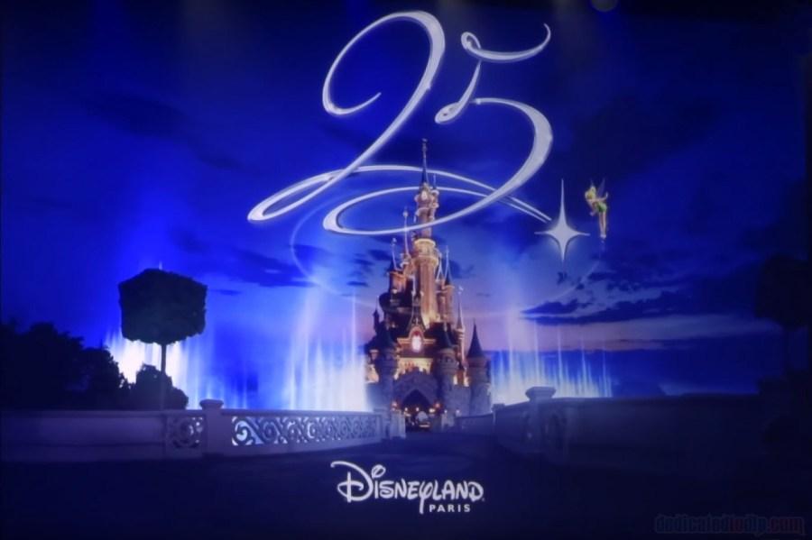 Visual van Disneyland Paris 25th Anniversary