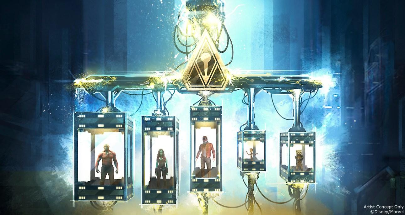 The Collector heeft The Guardians gevangen genomen in zijn fortress - het is aan ons, met behulp van Rocket, om iedereen te bevrijden.