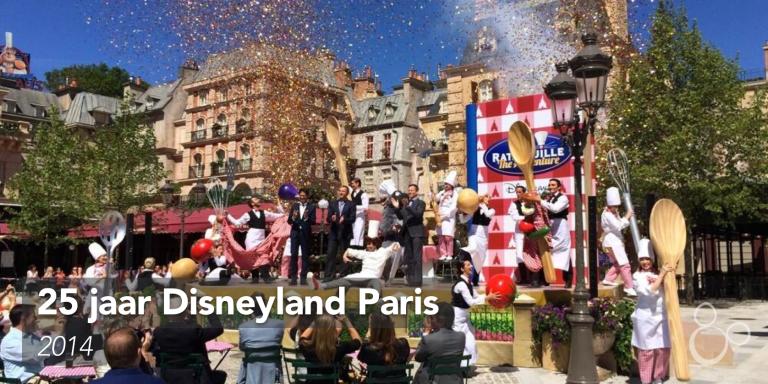 Confetti en hoge bazen openen de nieuwste attractie in de Walt Disney Studios