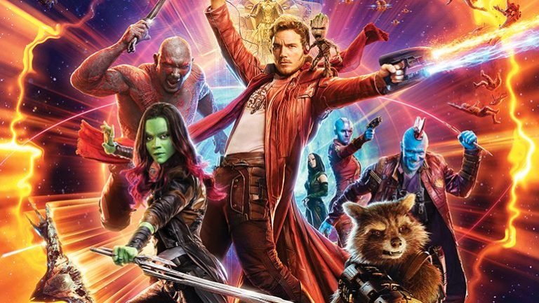 Poster van de Marvelfilm Guardians of the Galaxy