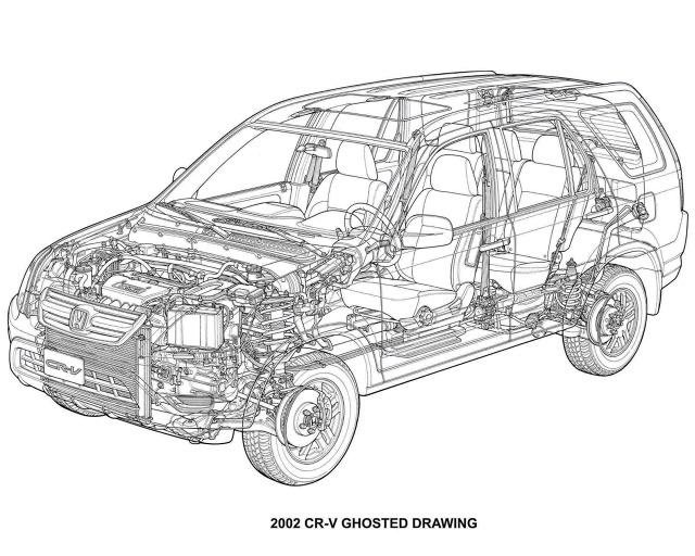 Używana Honda CR-V (2001