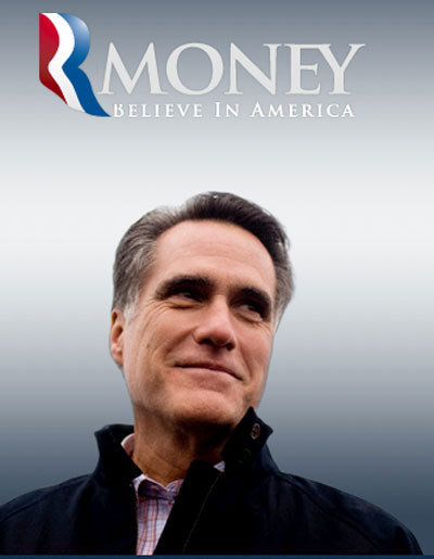 New and Improved Romney for President Logo