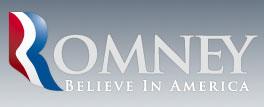 The new Romney for president logo