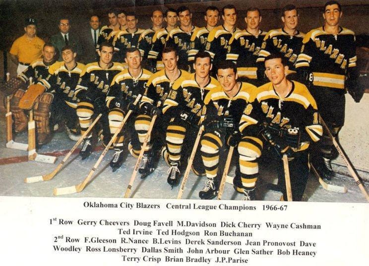 1966-67 Oklahoma City Blazers