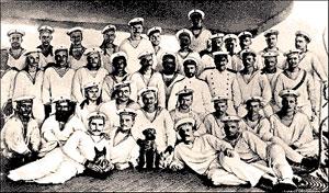 Участники Цусимского сражения 1904 г.
