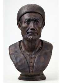 Мухаммед-Эмин (скульптурная реконструкция по черепу)