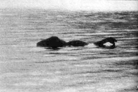 озеро Лох-Несс, Шотландия, 12 ноября 1933 года, автор фото Хью ГРЕЙ