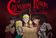middle grade graphic novel Crimson Rhen an all ages comic