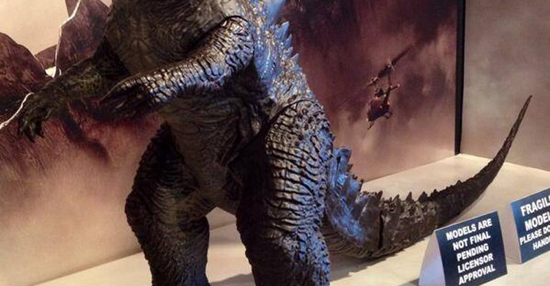 2014 Godzilla action figures