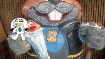 Punxsutawney Phil Firefighter
