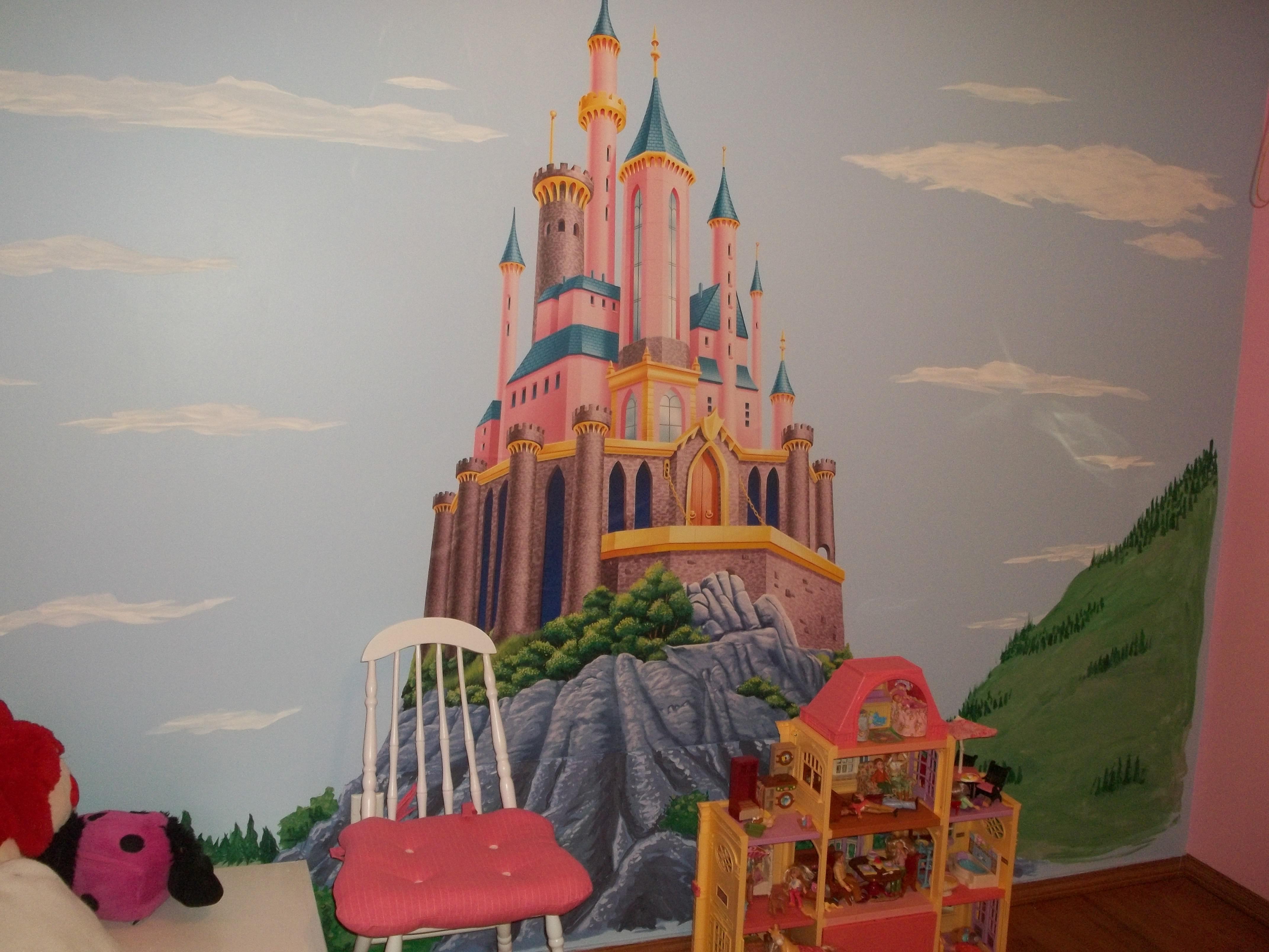 100 disney princess castle wall mural disney princesses in disney princess castle wall mural daughter s new disney princess bedroom d rezzed pop culture news