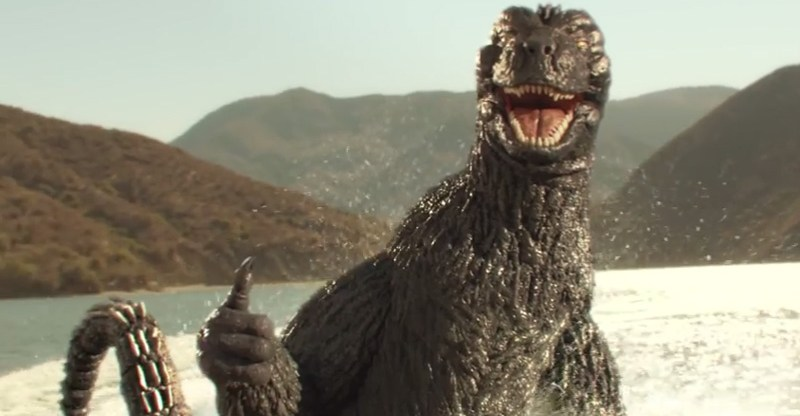 Godzilla Snickers Commerical