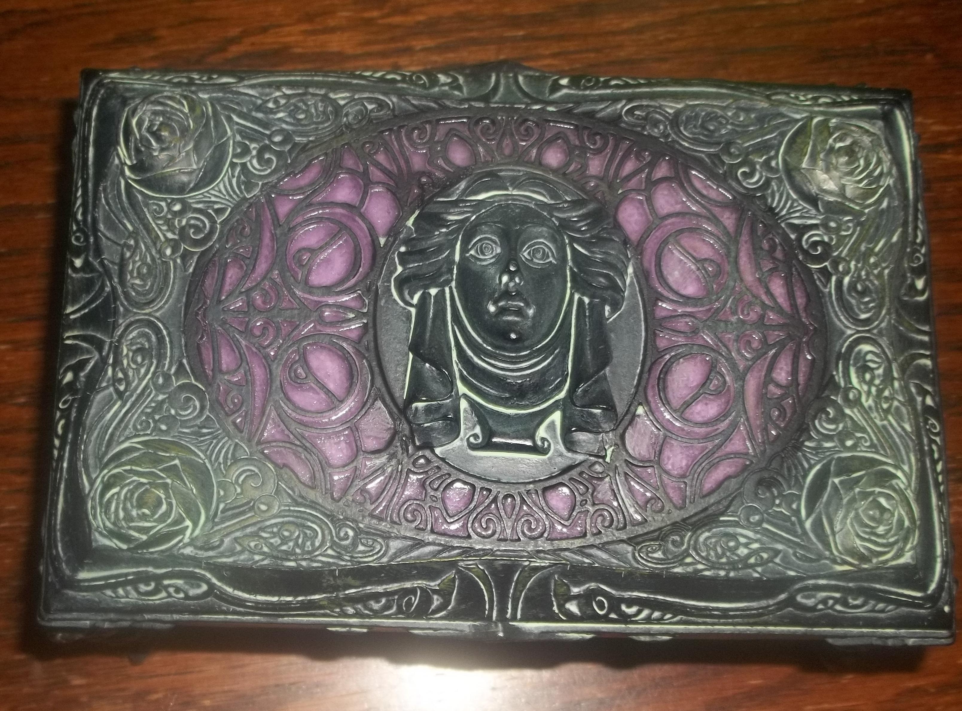The Haunted Mansion Jewelry Box Madame Leota Box DRezzed Pop