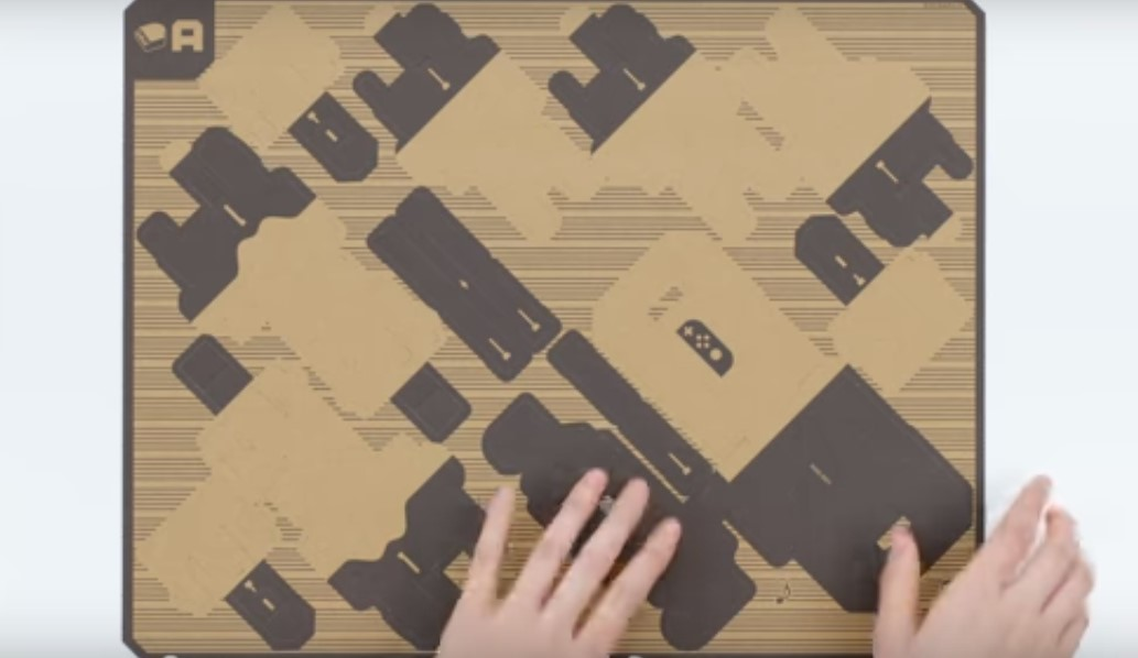 Nintendo Labo introduced for the Switch