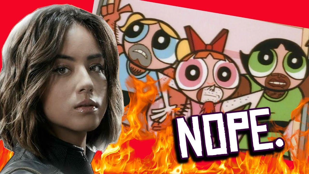 Powerpuff Actress QUITS Live Action CW Reboot Chloe Bennet RUNS from a  DUMPSTER FIRE