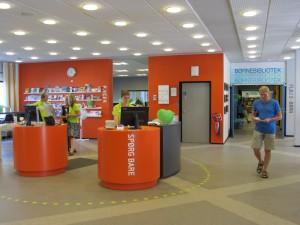 D-sign Tegnestuen og design tegnestuen udfører spændende biblioteksindretninger