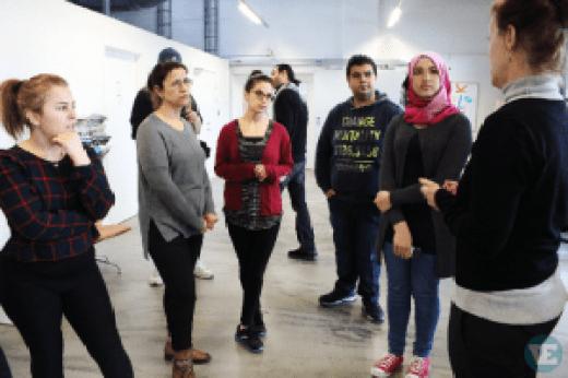 D-sign Tegnestuen og designtegnestuen har udviklet et dialogredskab til at sikre bedre integration af flygtninge i det danske samfund og på arbejdsmarkedet