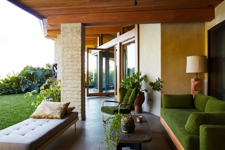 1950s Villa Of Ellen DeGeneres in Los Angeles  Design