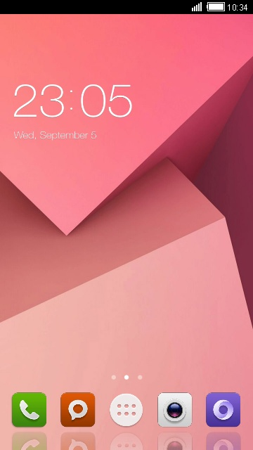 Theme for Xiaomi Redmi 5A free android theme – U launcher 3D