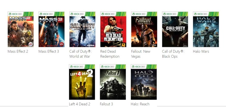Xbox Backward Compatibility News Update Three More Games