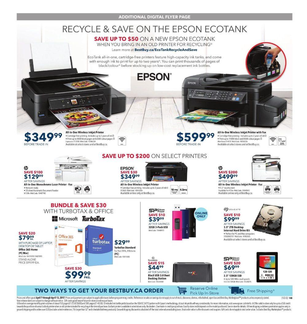 medium resolution of best buy weekly flyer weekly score epic deals apr 7 13 redflagdeals com