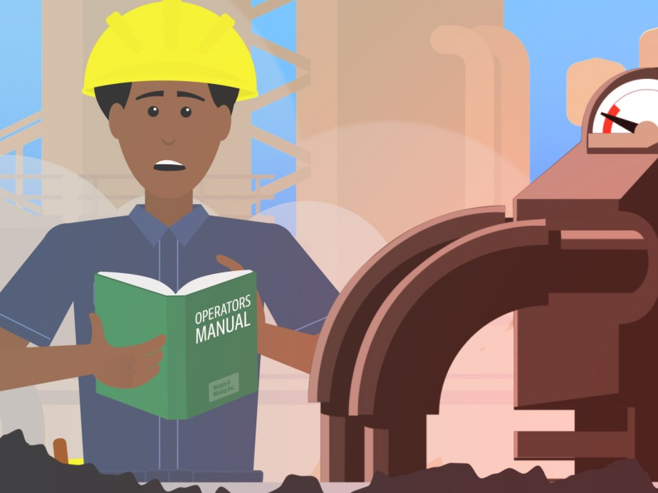 Character animation from an explainer video for IBM Cognitive Plant Advisor.