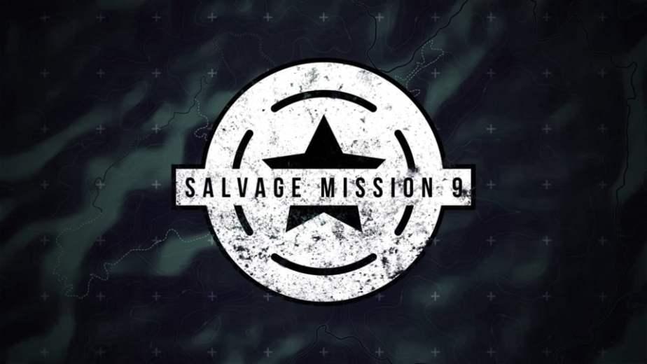 Salvage Mission 9 Logo