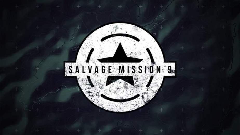 Salvage Mission 9 Logo