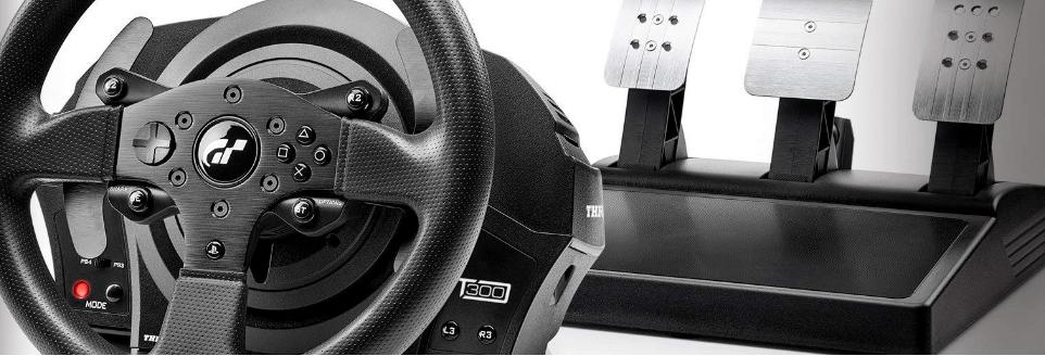 史低價:Amazon官網 Thrustmaster T300 RS GT 方向盤熱賣 兼容PS4/PC $200.02(原價 $399.99) - Extrabux