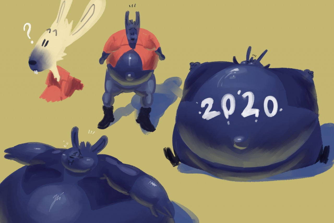 obligatory 2020 blueberry by a_guy_somewhere -- Fur ...