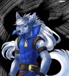 that anime wolf boy by Ayleen Fur Affinity [dot] net