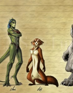 Endless realms player race height chart also by jocarra fur affinity rh furaffinity
