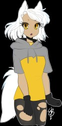 sheepish anime arctic fox boy fur affinity dot