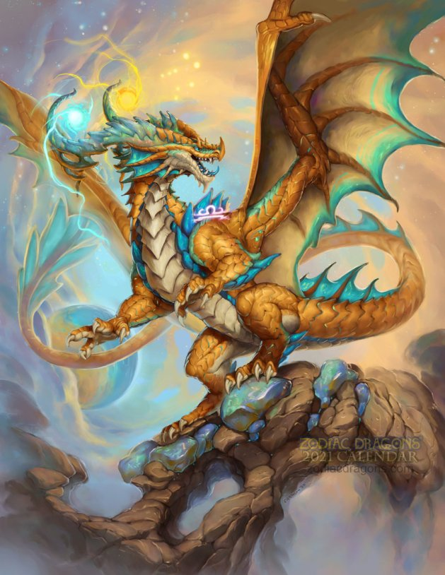 2021 Zodiac Dragon Libra