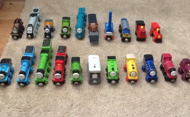 My Thomas Wooden Railway Collection Part 1 Engines By