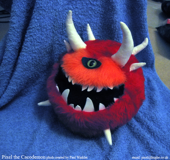pixel the cacodemon by