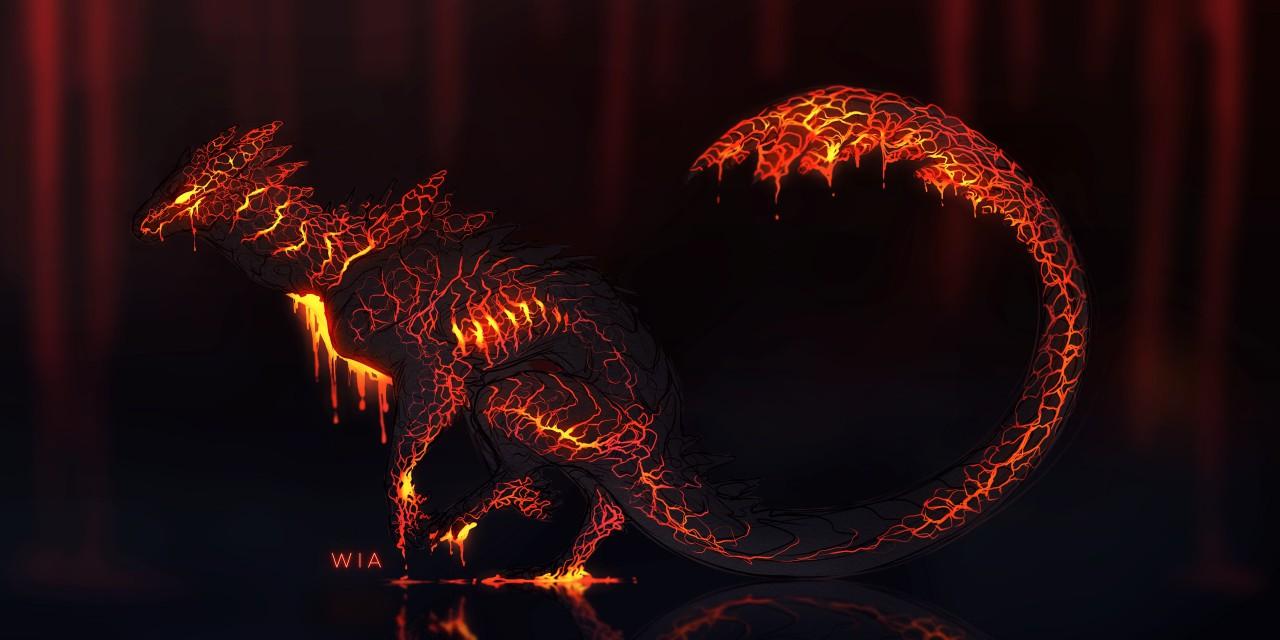 lava dragon adopt closed