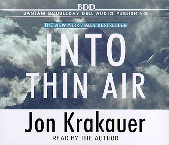 Reading on a Rainy Day: Into Thin Air by Jon Krakauer