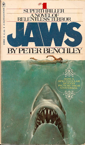 Jaws - For Science Fiction and Horror Summer Reads Post
