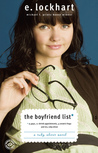 The Boyfriend List: 15 Guys, 11 Shrink Appointments, 4 Ceramic Frogs and Me, Ruby Oliver