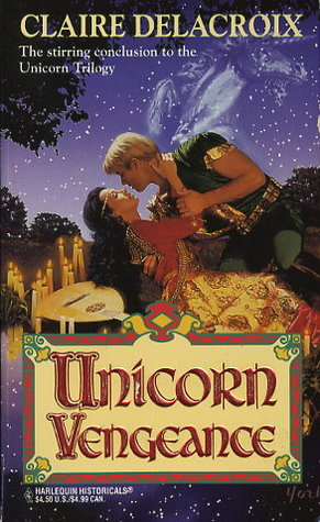 Unicorn Vengeance by Claire Delacroix - original 1995 cover