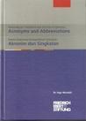 Dictionary on Comprehensive Security in Indonesia: Acronyms and Abbreviations/ Kamus Keamanan Komprehensif Indonesia: Akronim dan Singkatan