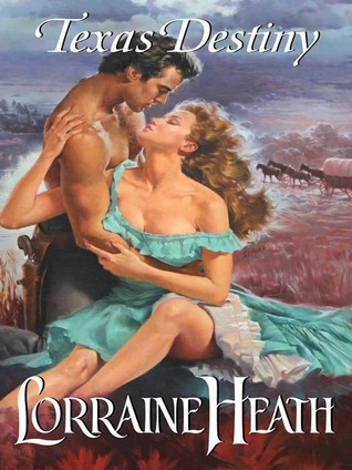 Just about the clinchiest of all clinch covers. Shirtless hero with his arm around the heroine's waist, with her bodice falling down and her hair billowing in the wind. The galloping horses in the background are extra amazing.