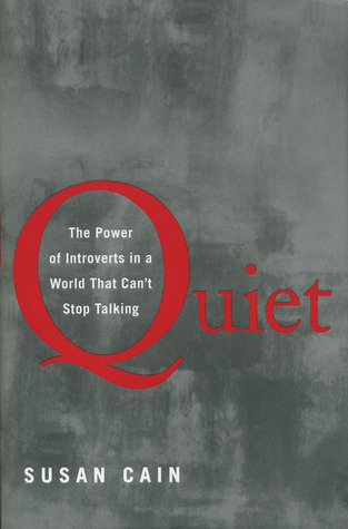 Jacket art, Quiet by Susan Cain