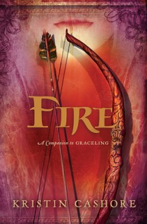 Fire (Graceling Realm #2) by Kristin Cashore. A truly wonderful YA fantasy novel. Click through for full review. Via Diamonds in the Library.